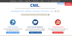 Portail CNIL